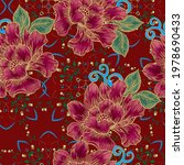 beautiful seamless pattern with ... | Shutterstock . vector #1978690433