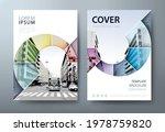 annual report brochure flyer...   Shutterstock .eps vector #1978759820