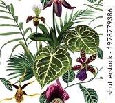 floral seamless pattern ...   Shutterstock .eps vector #1978779386
