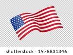 waving flag of american... | Shutterstock .eps vector #1978831346