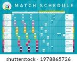 euro 2020 match schedule... | Shutterstock .eps vector #1978865726