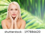 heath and beauty concept   face ... | Shutterstock . vector #197886620
