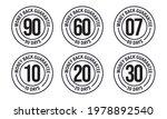 money back guarantee vector... | Shutterstock .eps vector #1978892540