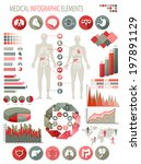 medical infographics elements.... | Shutterstock . vector #197891129