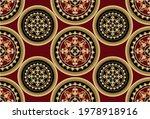 seamless golden baroque pattern ... | Shutterstock .eps vector #1978918916