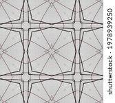Ink Flower Pattern. Line...