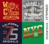 Vintage T Shirt Graphic Set