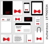 stationery template design.... | Shutterstock .eps vector #197900534