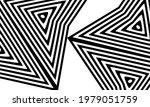 unusual patterns in op art... | Shutterstock .eps vector #1979051759