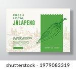 vegetables food label template. ... | Shutterstock .eps vector #1979083319