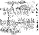 underwater landscape  ocean... | Shutterstock . vector #197909960