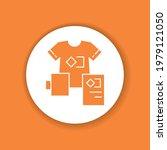 brand identity color glyph icon....