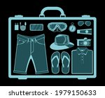 airport security scanner icon....   Shutterstock .eps vector #1979150633