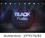 black friday sale banner on... | Shutterstock .eps vector #1979176283