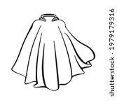 super hero cape or cloak for... | Shutterstock .eps vector #1979179316