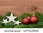 red xmas bauble | Shutterstock . vector #197923904