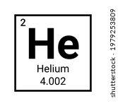helium periodic table element... | Shutterstock .eps vector #1979253809