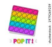 pop it. cute colorful cartoon... | Shutterstock .eps vector #1979269259