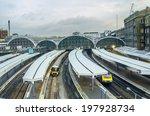 paddington station. trains...