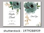 set of cards with floral...   Shutterstock .eps vector #1979288939
