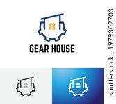 gear flat house real estate...   Shutterstock .eps vector #1979302703