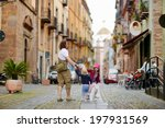 two little sisters and their... | Shutterstock . vector #197931569