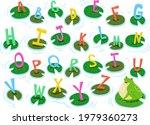 illustration of a frog sitting... | Shutterstock .eps vector #1979360273
