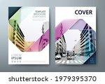 annual report brochure flyer...   Shutterstock .eps vector #1979395370