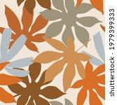 tropic leaves summer seamless... | Shutterstock .eps vector #1979399333