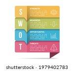 swot analysis diagram ... | Shutterstock .eps vector #1979402783