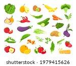 vegetable and fruit. fresh...   Shutterstock .eps vector #1979415626
