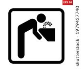 drinking fountain symbol.... | Shutterstock .eps vector #1979427740