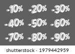 set of 3d discount isometric... | Shutterstock .eps vector #1979442959
