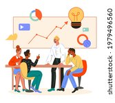 business meeting and... | Shutterstock .eps vector #1979496560