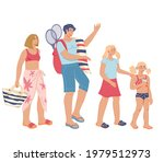 happy family   parents and... | Shutterstock .eps vector #1979512973