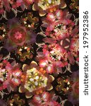 abstract floral background | Shutterstock . vector #197952386