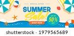 summer sale banner vector... | Shutterstock .eps vector #1979565689