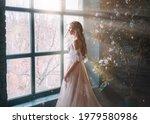 Romantic Lady  Blonde Woman...