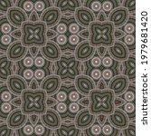 intricate italian maiolica tile ...   Shutterstock .eps vector #1979681420