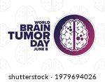 world brain tumor day. june 8.... | Shutterstock .eps vector #1979694026
