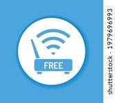 free wifi color glyph icon....