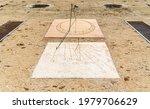 Sundial Clock With Roman...