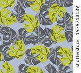 seamless exotic jungle pattern... | Shutterstock .eps vector #1979713139