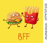funny fastfood characters best... | Shutterstock . vector #1979737133