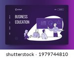business education landing page....