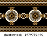 luxury seamless border with... | Shutterstock .eps vector #1979791490
