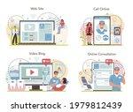 dentist online service or... | Shutterstock .eps vector #1979812439