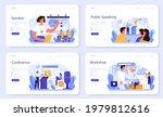 professional speaker web banner ... | Shutterstock .eps vector #1979812616