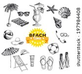 hand drawn vector illustration. ...   Shutterstock .eps vector #197984408