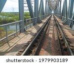 Old Steel Railway Bridge Over...